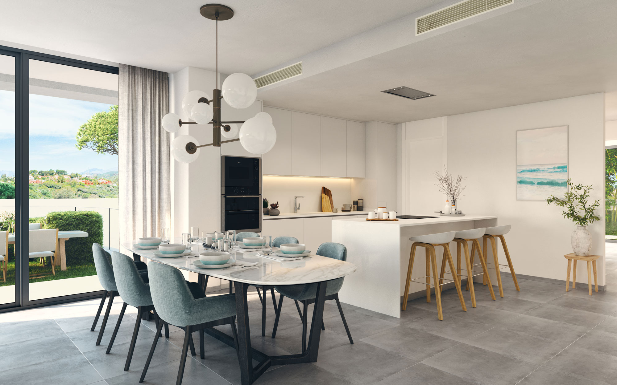 Brand new apartments in Cabopino