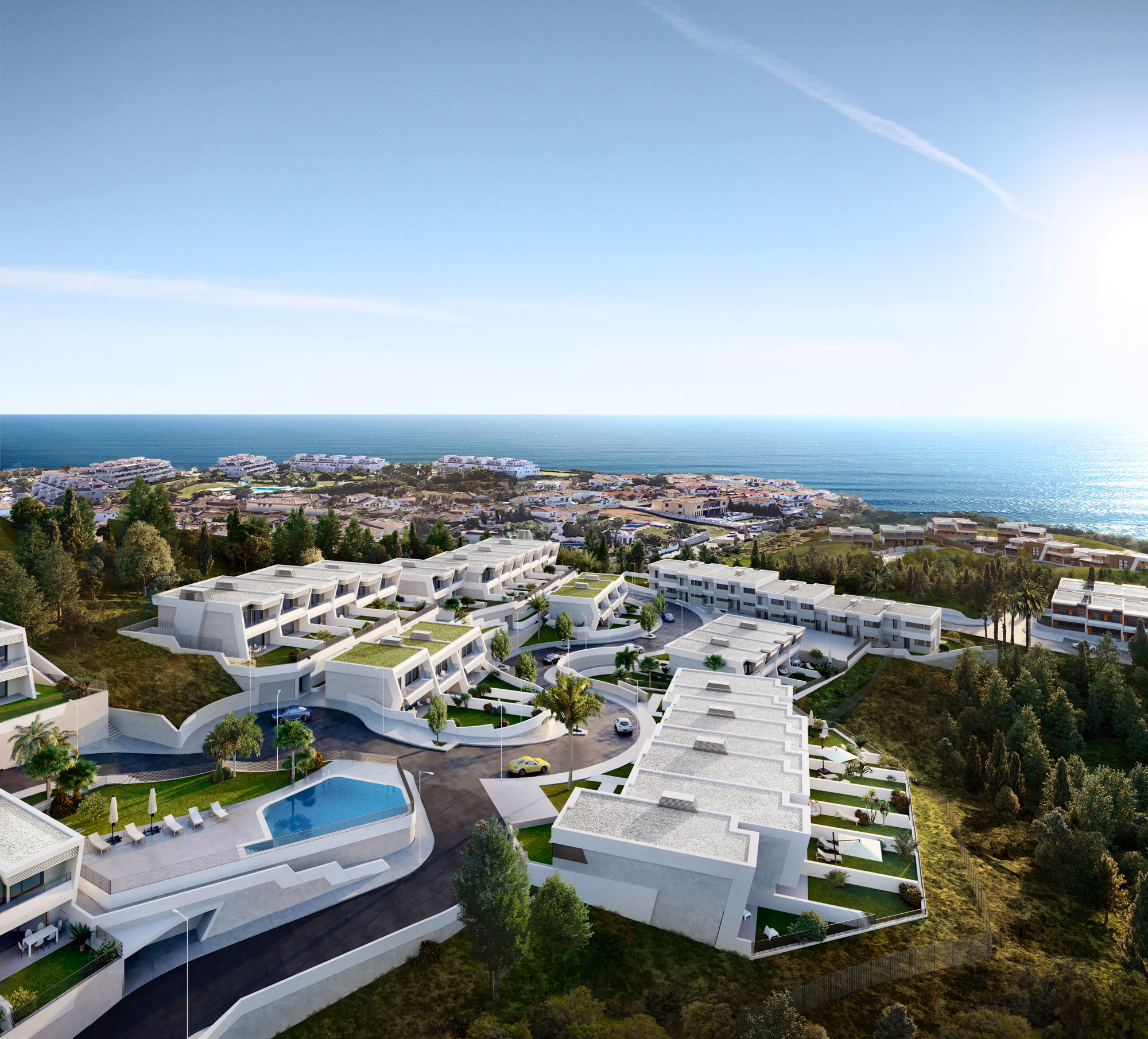 Exclusive New Complex in Mijas Costa